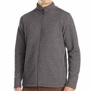 New White Sierra Mens Murphys Zip Fleece Sweater C